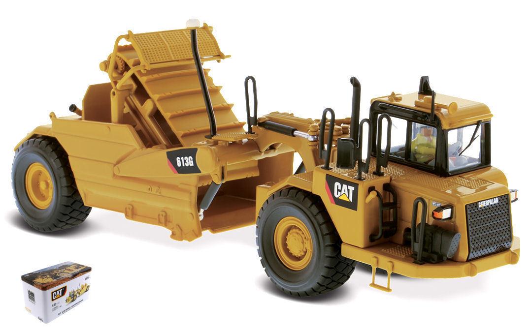 Cat 613G Wheel Tractor Scraper 1 50 Model DIECAST MASTERS