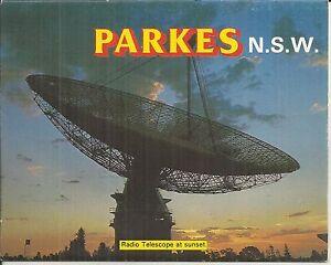 FOLD OUT VIEWS OF PARKES NSW  POSTCARD