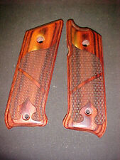 Ruger Mk III Rosewood Checkered/Spade Pistol Grips METAL FRAME ONLY-NEW!