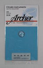 Archer 1/35 Citroen Instruments (for Tamiya 35301) (5 vehicles) [Decal] AR35376