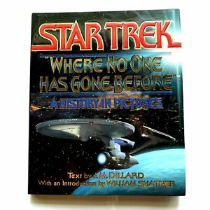Star-Trek-Rare-1994-Book-A-history-in-Pictures-intro-by-William-Shatner