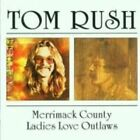 Tom Rush Merrimack County/ladies Love Outlaws CD 20 Track 2lps on 1cd