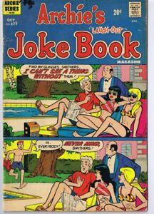 Archie-Joke-Book-177-ORIGINAL-Vintage-GGA-Good-Girl-Art-Double-Swimsuit-Cover