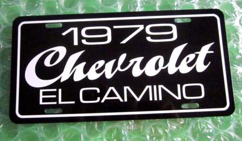 1979 Chevrolet EL CAMINO license plate car  tag 79 Chevy Super Sport pickup car