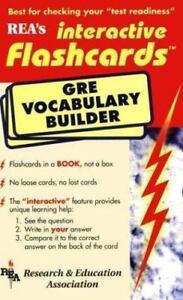 gre vocabulary builder interactive flashcard book flash card books