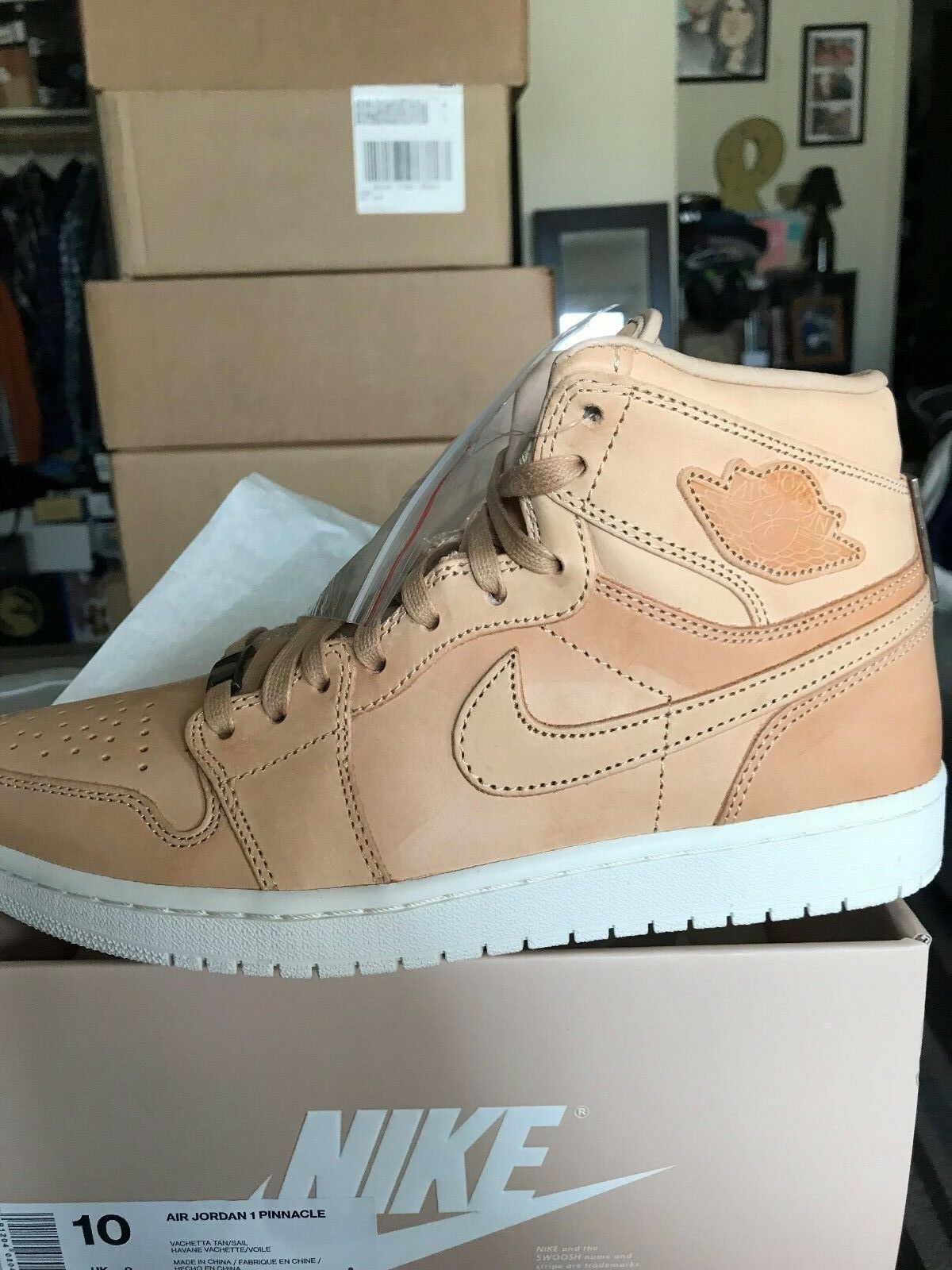 Jordan 1 Retro Pinnacle Vachetta Tan