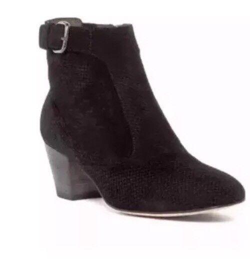 Aquatalia Bota al tobillo para mujer de Francia Negro 7980