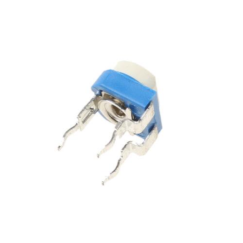 150pcs 15value Trimpot Trimmer Pot 6mm Variable Resistor Assortment Box Kit