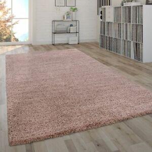 Dettagli su Soffice tappeto da soggiorno a pelo lungo Shaggy, pratico e  moderno in tinta uni
