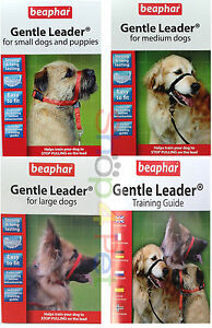 DOG-HARNESS-Beaphar-Gentle-Leader-Head-Collar-FOR-PET-STOPS-PULLING