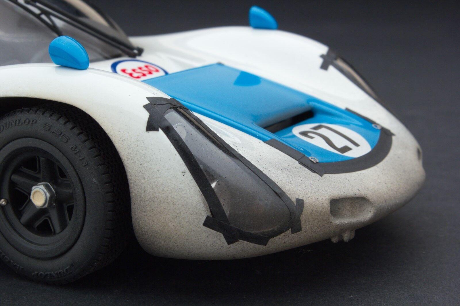 RACE WEATHERED Exoto 1971 Porsche 910 Le Mans 1 18 MTB00062HFLP