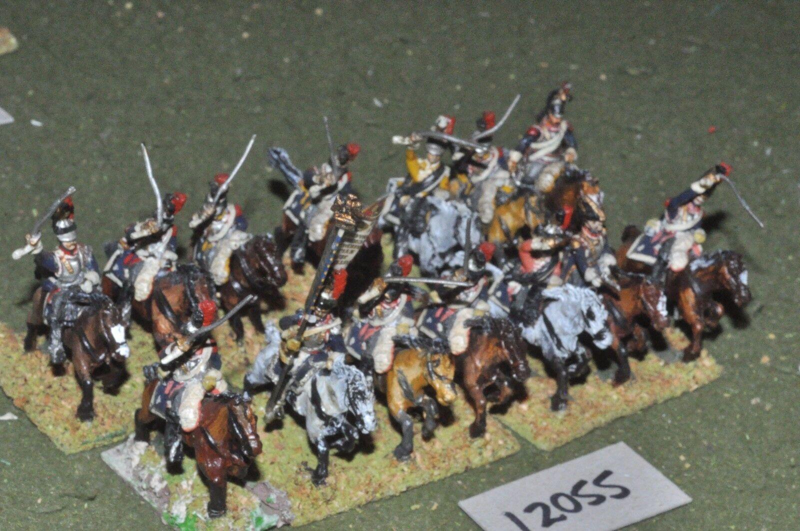 25mm napoleonic   french - cuirassiers 14 cavalry - cav (12055)