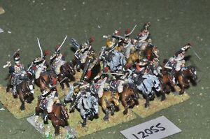 25mm Napoléonien / Français - Cuirassiers 14 Cavalry Cav (12055)