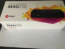 MAG 256 Infomir H.265 HEVC Video Decoder MAG256 IPTV Set Top Box STB Streamer HD