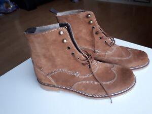 8g Desert Leather Uomo Real New Uk Tan stivali Clarks Size wXzAwxqIT