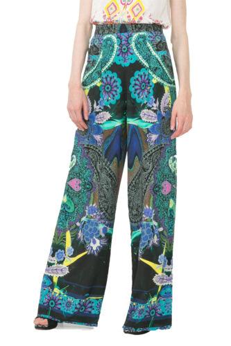 Desigual Wide Leg Loose Briss Patterned Trousers XS-XL UK 8-16 RRP�119