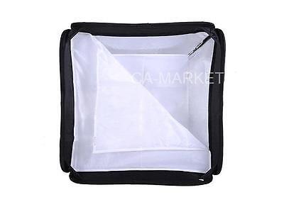 "Portable 16"" Flash Soft box Softbox for Photo Studio Camera Speedlite 40x40 cm"