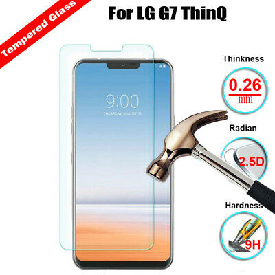 New Premium Tempered Glass Guard Screen Protector For LG Q7 G7 Stylo 4 Q Stylus