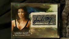 Supernatural Season 3 Autograph Card A-23 Sandra McCoy as The Crossroads Demon