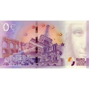 Billet 0€ Euro Souvenir 2016 2019 Faille Verdun Glace Nimes Toulouse Amphitrite Promouvoir La Production De Fluide Corporel Et De Salive