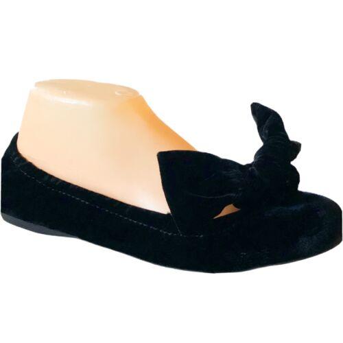 Miu Miu Velvet Bow Ballet Flats