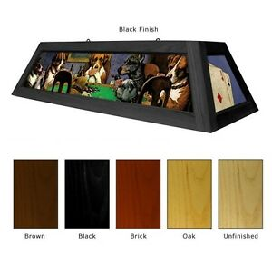 Image Is Loading Dogs Playing Poker Pool Table Light Billiards Lighting