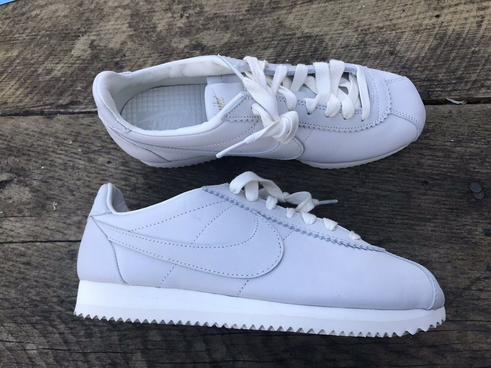 Nike Classic Cortez Premium QZ TS 'Sail' Men Size US 5.5 NEW  White shoes