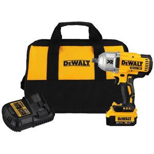 DEWALT-20V-MAX-XR-Li-Ion-1-2-in-Impact-Wrench-w-Detent-Pin-Anvil-DCF899M1-New