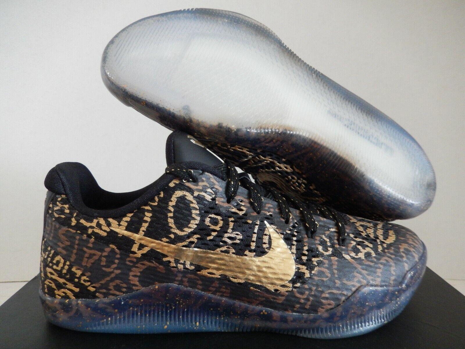 Size 10 - Nike Kobe 11 Elite Low Black