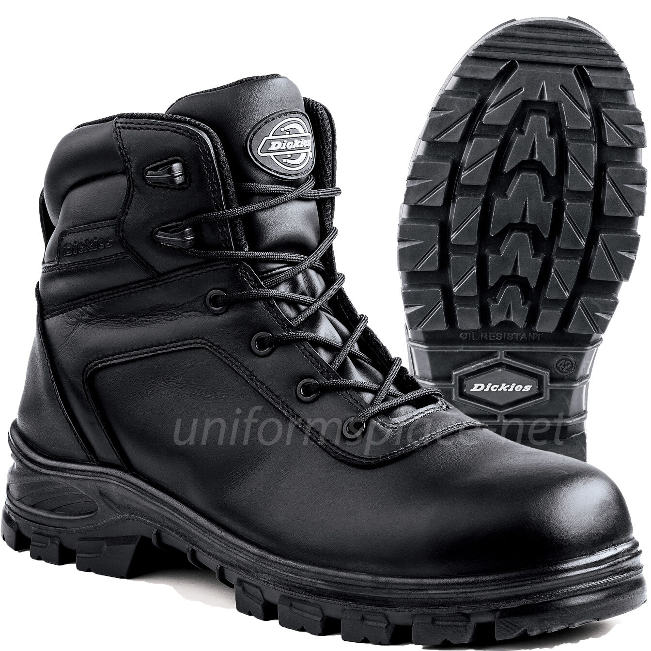 Dickies Work Stivali Uomo Lance Composite Safety Safety Safety Toe Pelle Work Boot DW6335 e1a95c