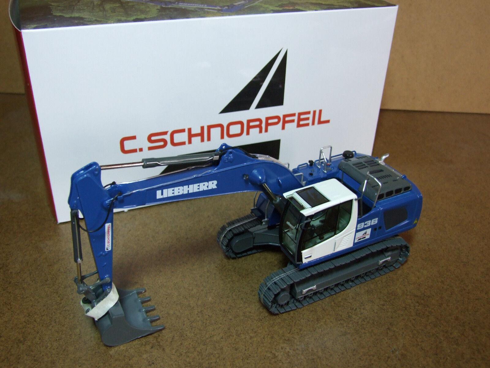 NZG 957 02  Liebherr r936 IV excavadoras  C. schnorpfeil  nuevo & OVP.