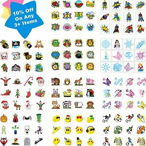 Childrens-36-Temporary-Tattoos-Kids-Party-Bag-Christmas-Stocking-Fillers-Toys