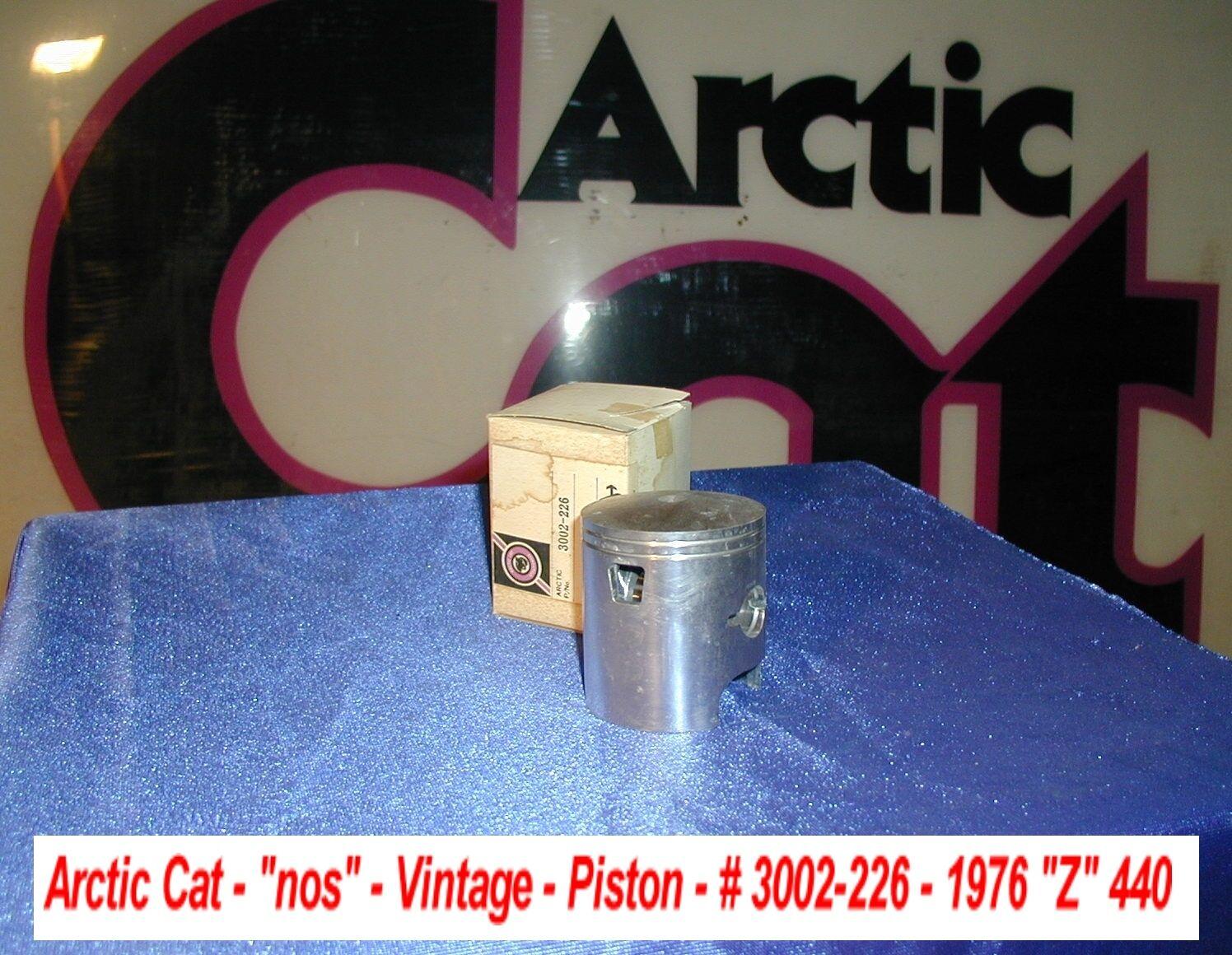 Arctic Cat Snowmobile Piston oem 1976  Z  440 Vintage