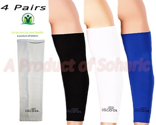 UV Protection Cooler Arm Sleeves for Bike//Hiking 4 pairs  Sun Protective