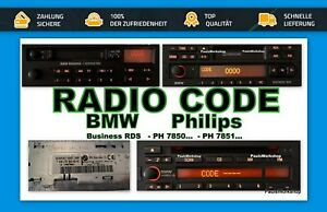 Radio-Code-24H-Becker-BMW-Bavaria-Professional-Exclusiv-RDS-Business