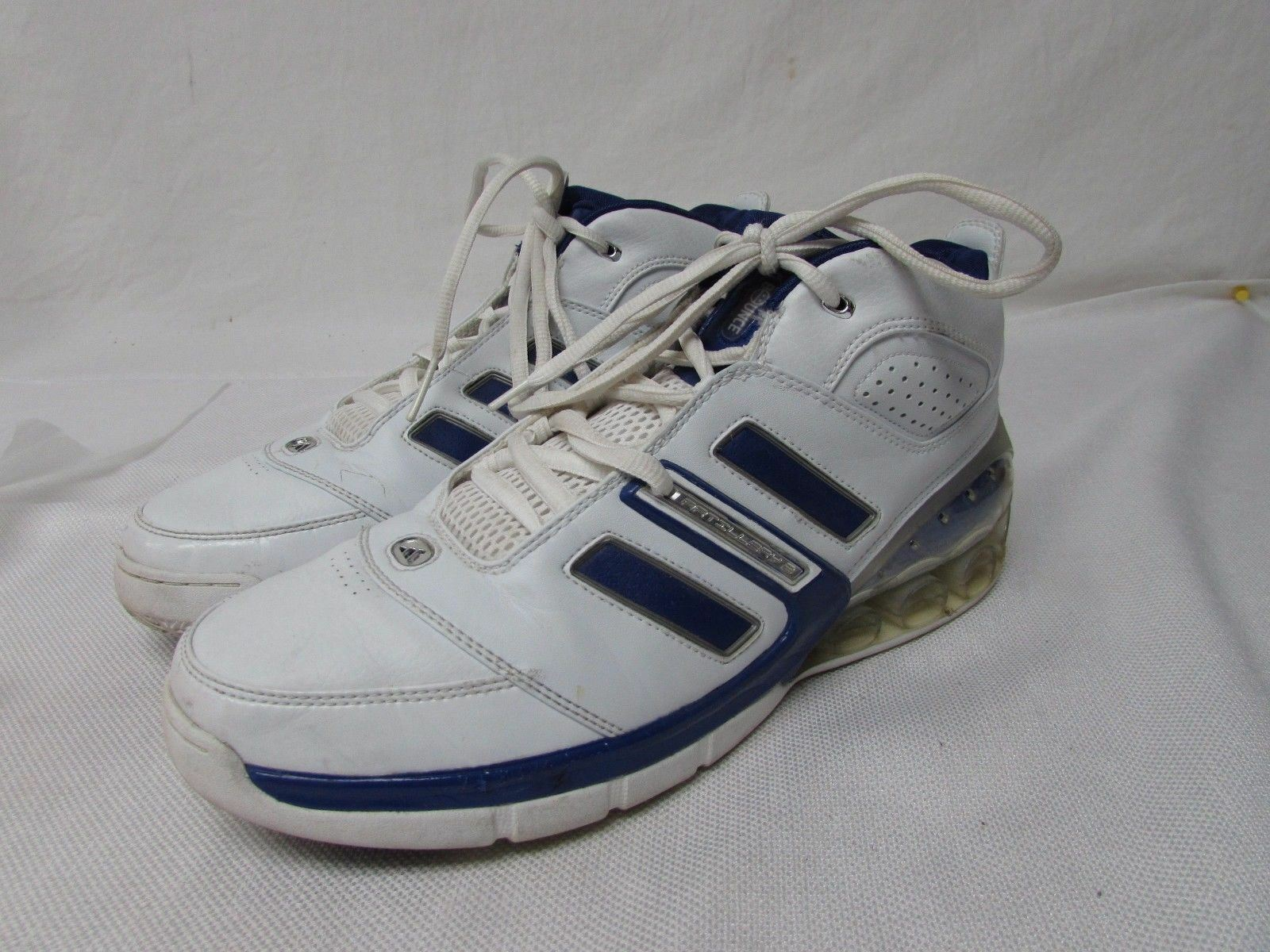 Adidas bounce men's size 11.5 high top basket ball shoes athletic Wild casual shoes
