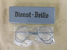 WW2 Wehrmacht Dienstbrille mit Etui Brille
