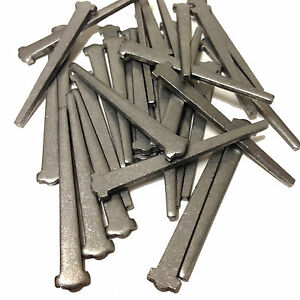 65mm BRIGHT CUT CLASP STEEL NAILS - WINDOW / DOOR FRAME NAILS - MASONRY NAIL