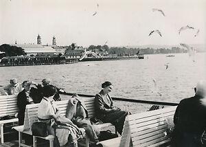 Allemagne C. 1940 - Vue Sur Lindau Depuis Le Lac De Constance - Div8399 Wxetls5p-07233455-282727682