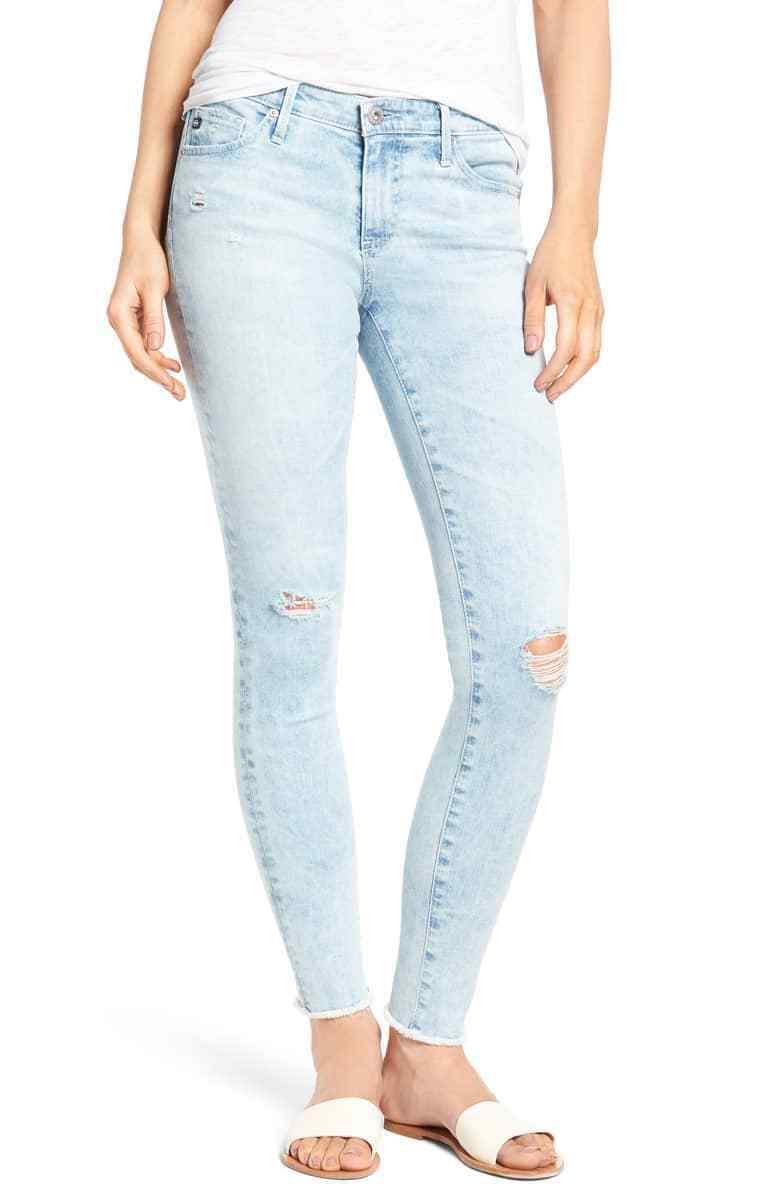 215 AG Jeans - The Legging Ankle - Super Skinny Ankle in Charming - Size 25