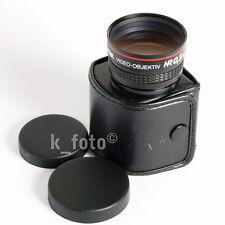 Hama Video-Vorsatzobjektiv HR 0.5X für Lomographie * Conversion lens