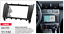 CARAV-11-132-2Din-Marco-Adaptador-de-Radio-para-Mercedes-C-W203-CLK-W209-CLK-G