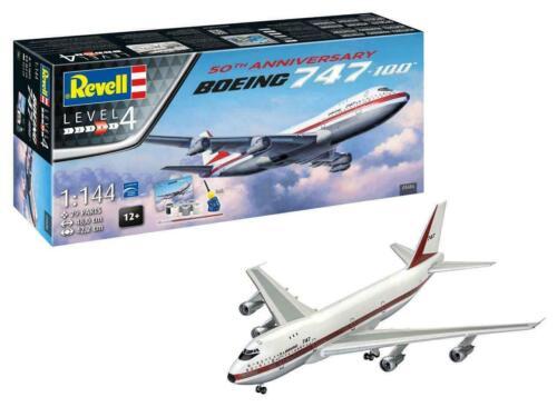 Revell 05686 Boing 747-100 Bausatz inclusive Kleber und Farben 1:144 NEU