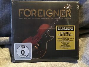 FOREIGNER WITH THE 21ST CENTURY SYMPHONY ORCHESTRA  CHORUS - NEW & SEALED
