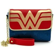 Officially Licensed DC Comics Wonder Woman Round Shield Bag