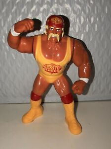 WWF-Hasbro-Hulk-Hogan-Series-3-Hulkster-Rules-Wrestling-Figure-WWE-WCW-NWO-Rare