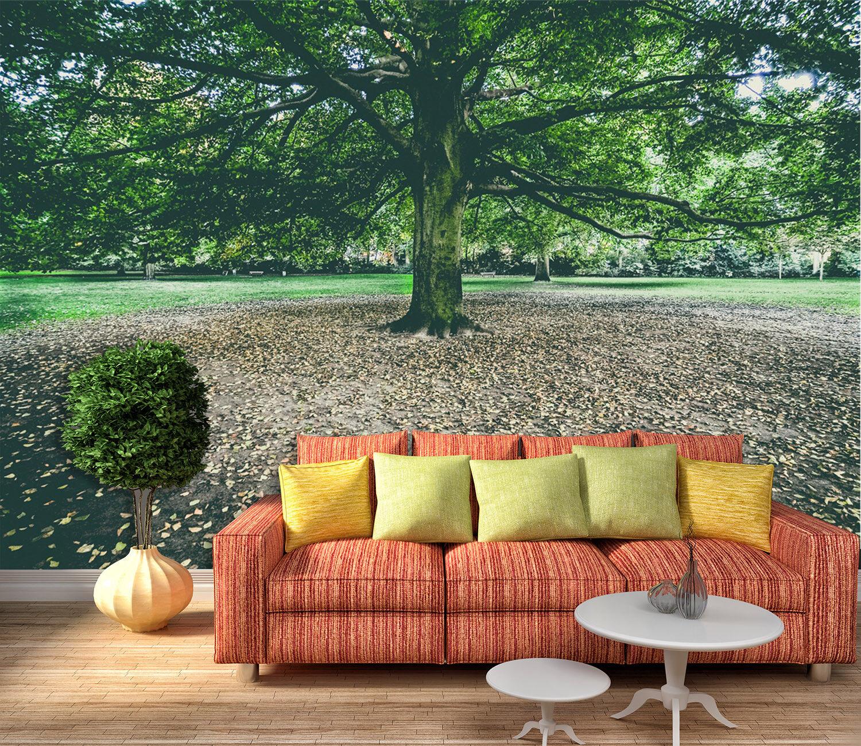 3D Baum Gras Natürlich 7599 Tapete Wandgemälde Tapeten Tapeten Tapeten Bild Familie DE Lemon | Shop  ccd3cf