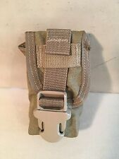 Lot of 3 Pocket Flash Bang Pouch FSBE 4/10 Coyote Tan