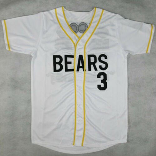 Baseball Jerseys Bad News Bears #3 Baseball Jersey Stitched Retro Throwback