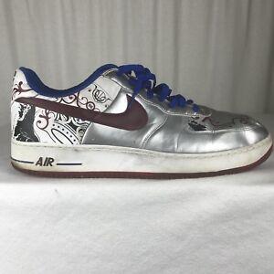 dd6a34a665e Nike Air Force 1 Mens 18 Premium Lebron James Collection Royale ...